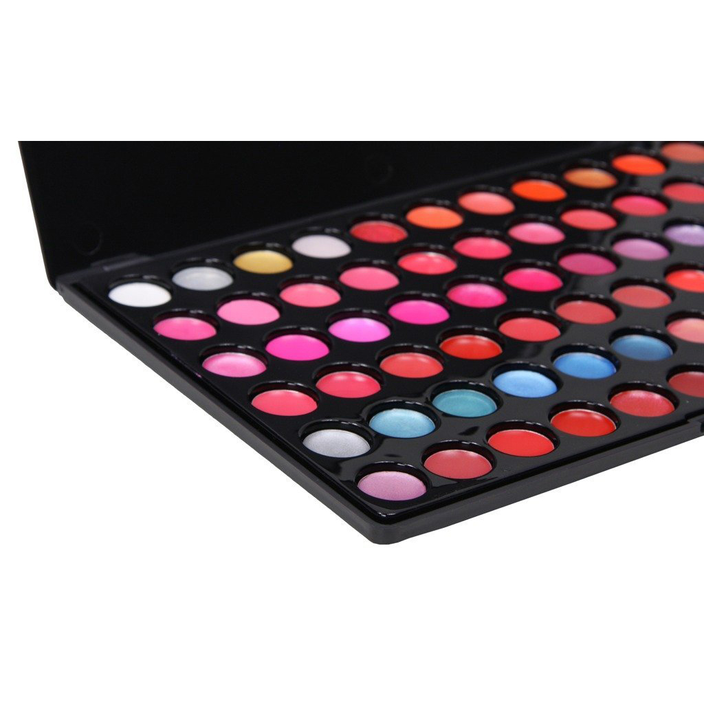 66 couleur gloss a levres set maquillage cosmetique palette rouge a levres m1 ebay. Black Bedroom Furniture Sets. Home Design Ideas