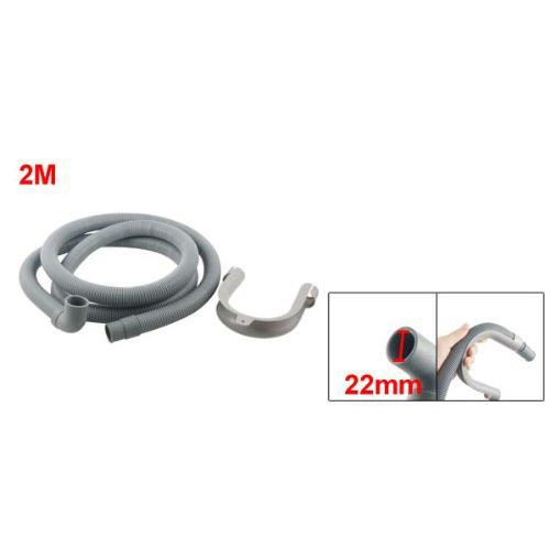 78 7 longueur flexible coude tuyau de vidange pour. Black Bedroom Furniture Sets. Home Design Ideas