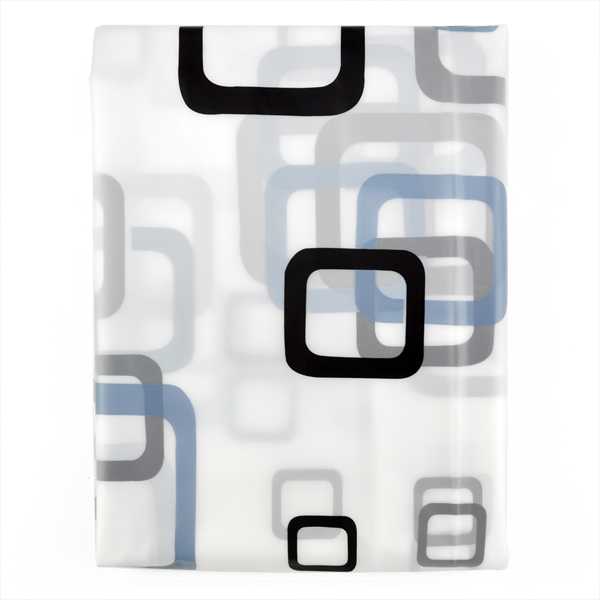 Tenda bagno doccia moderna extra lungo con ganci 180 x 200 for Ganci bagno design