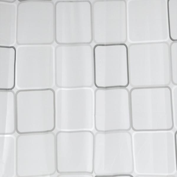 Cortinas de bano ducha extra largas con ganchos 180 x for Ganchos cortina bano