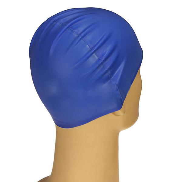 Silicone Unisex Men Women Adults Swimming Pool Swim Cap Hat Waterproof T1