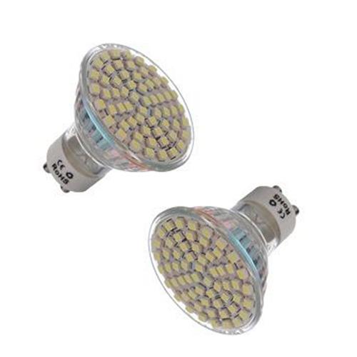 10x 5w gu10 60 3528 smd led weiss 6500k spot licht gluehlampe lampen 220v neu gy ebay. Black Bedroom Furniture Sets. Home Design Ideas