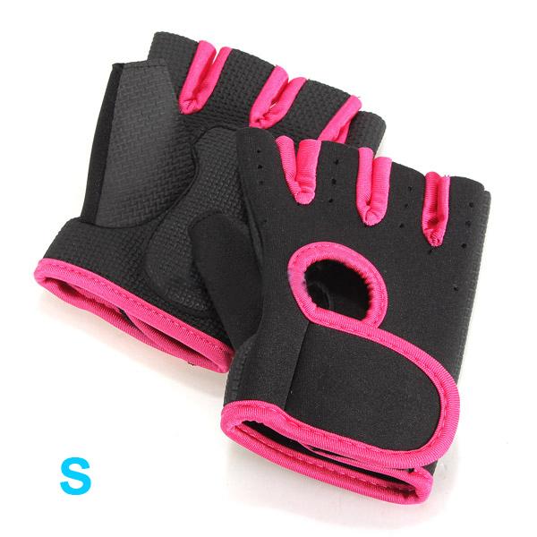 Deporte gym medios guantes del dedo entrenamiento con for Deporte gym