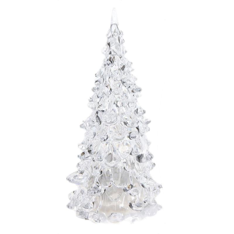 Farbwechsel led kuenstlicher kristall weihnachtsbaum for Dekoration weihnachtsbaum