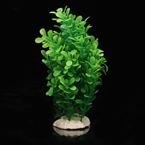 Gift Green Fake Plastic Water Plants For Fish Tank