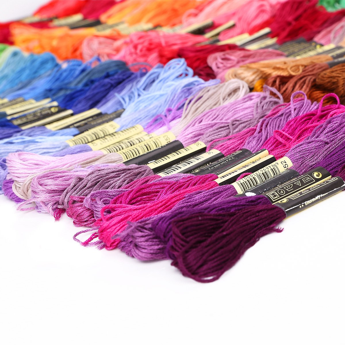 ... of multicolored yarn for cross stitch embroidery Crocheting SP eBay