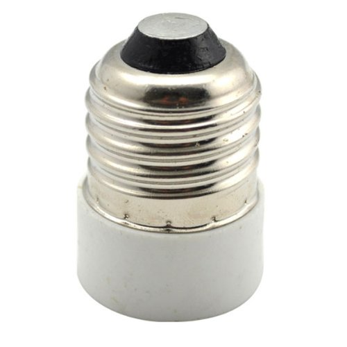 3x adapter e14 auf e27 strahler lampen fassung sockel gy ebay. Black Bedroom Furniture Sets. Home Design Ideas