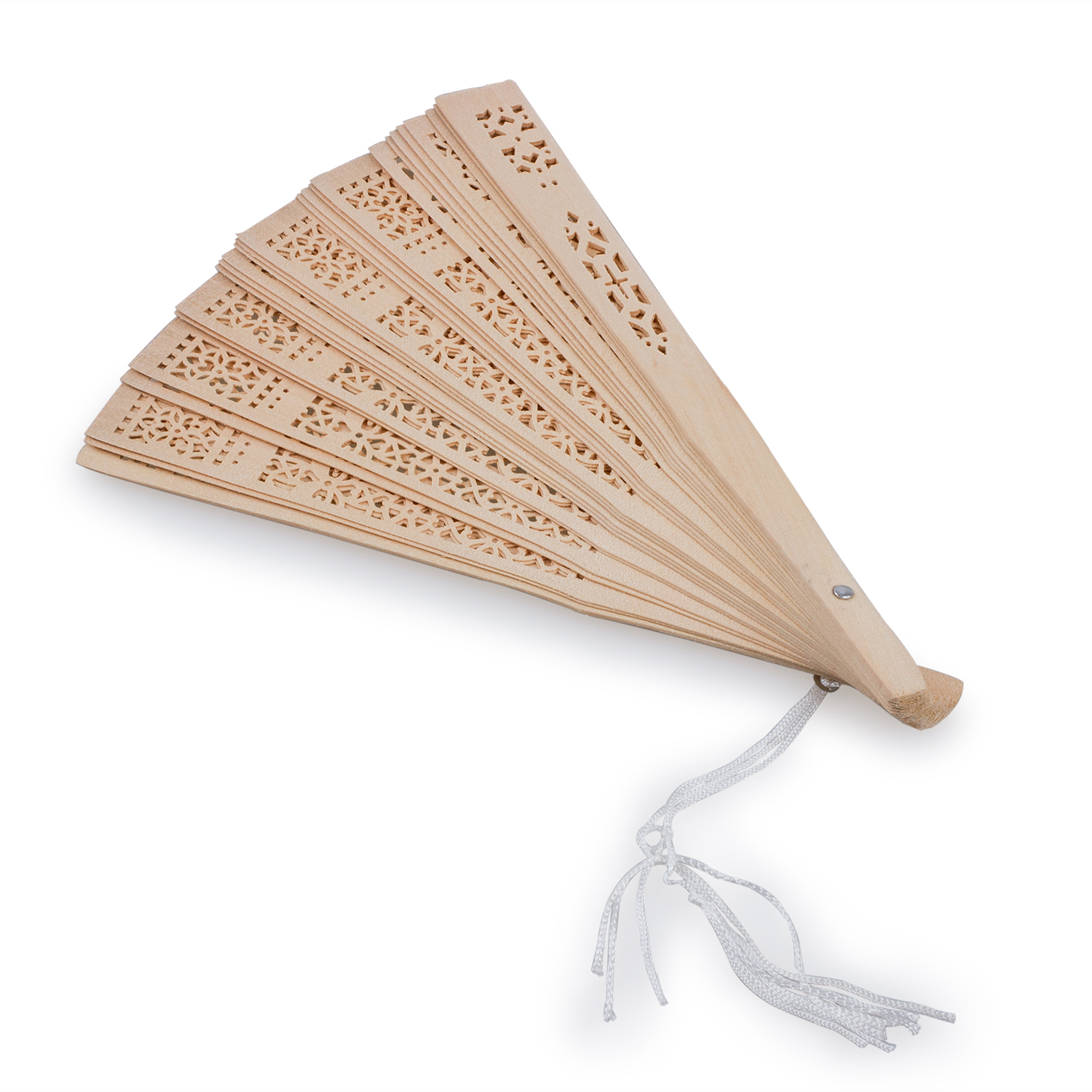 Classic Elegant Fragrant wood Hand Fan Wooden Scented Wedding Gift ...