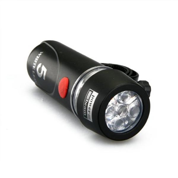 15X Bicicletta Bici 5 LED Faro Posteriore Coda Lampada Luci Di Sicurezza  SUPPORTO J1H4