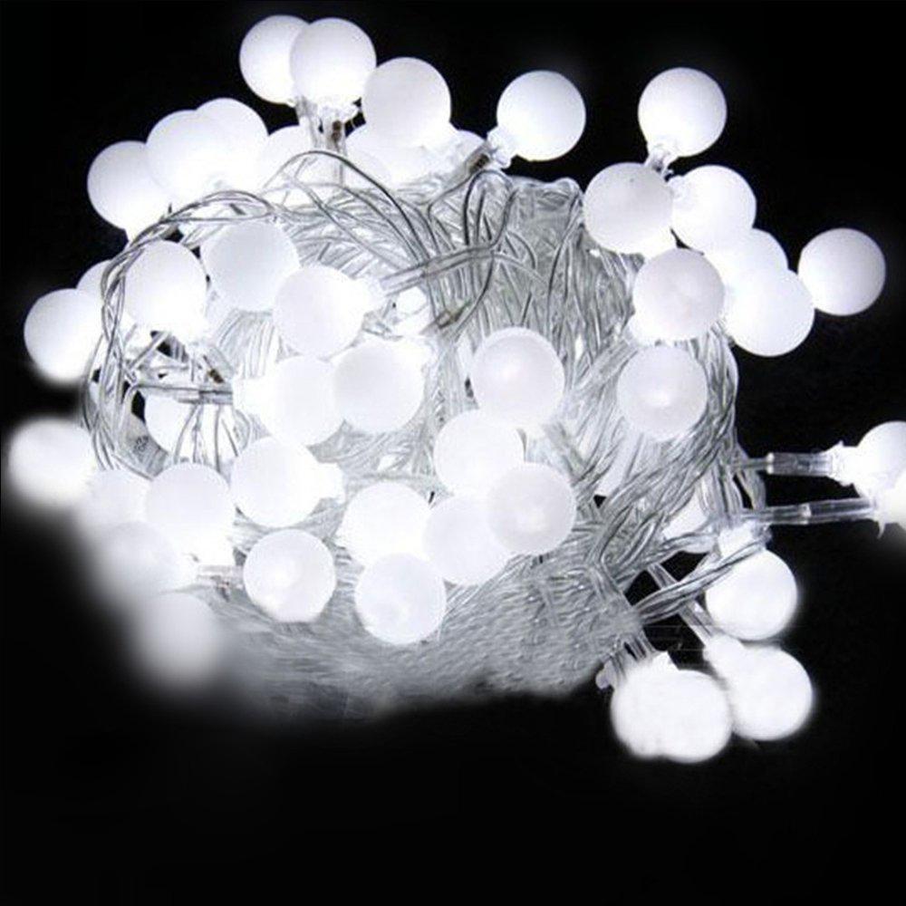LED 2.5M Battery Operated 20-LED Bulbs String Light Cool White ED eBay