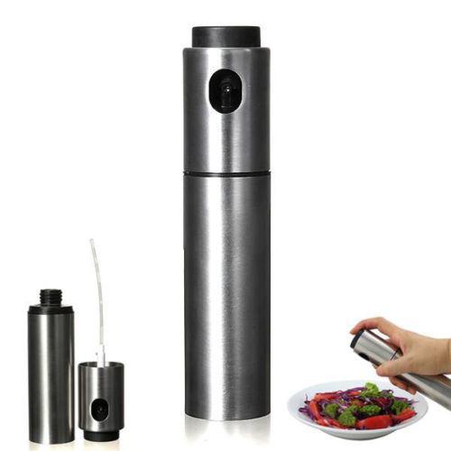 5x edelstahl olive pump spruehflasche spritzkanne oelbehaelter ebay. Black Bedroom Furniture Sets. Home Design Ideas