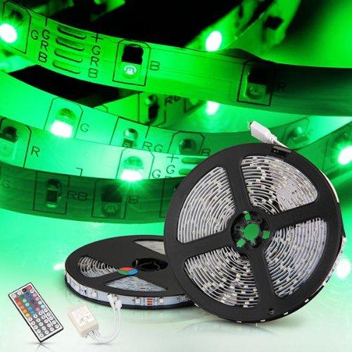 108h3 2x5m 10m 3528 smd 600 led lichterkette lichtleiste rgb fernbedienung ebay. Black Bedroom Furniture Sets. Home Design Ideas