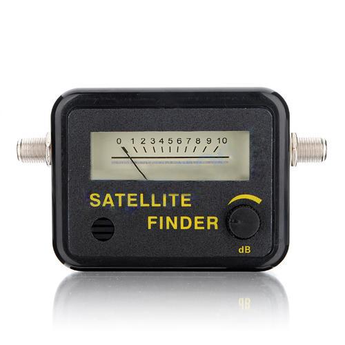 digital satellite finder signal meter for directv dish tv network n6e7 ebay. Black Bedroom Furniture Sets. Home Design Ideas