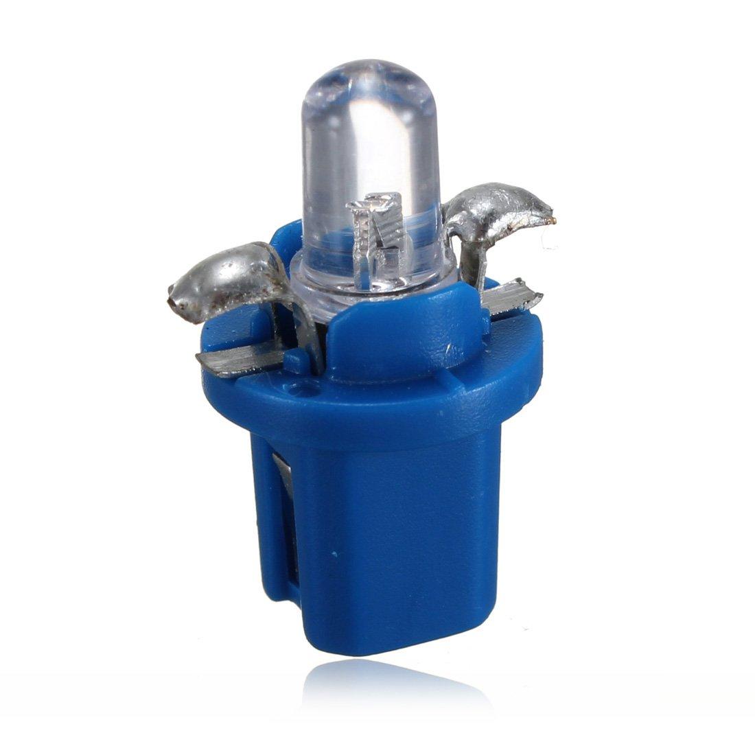 10x ampoule led compteur tableau de bord b8 5d t5 lampe avec support bleu wt 4894462150764 ebay