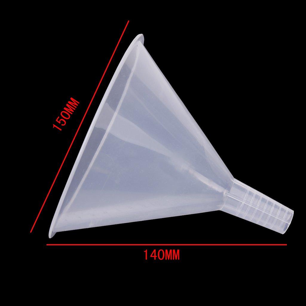 150mm entonnoir en plastique transparent pour cuisine for Garage en plastique