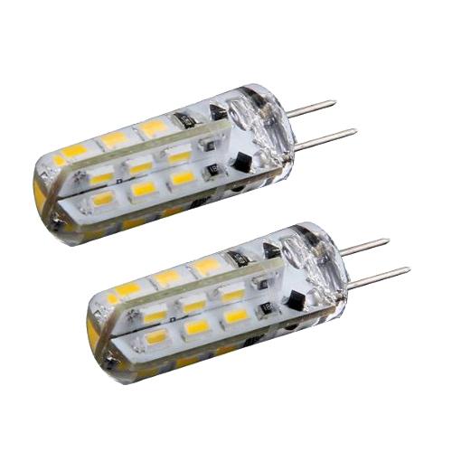 3x 2 x birnen lampe g4 24 smd 3014 led licht warmweiss 1 5w 12v dc de ebay. Black Bedroom Furniture Sets. Home Design Ideas