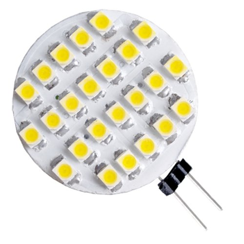 24 smd led g4 strahler leuchte lampe birnen warmweiss dc. Black Bedroom Furniture Sets. Home Design Ideas