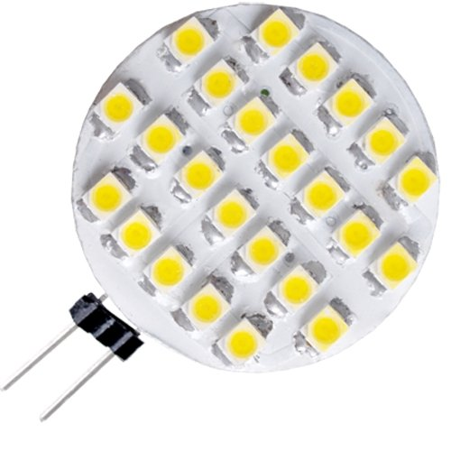 5x 24 smd led g4 strahler leuchte lampe birnen warmweiss. Black Bedroom Furniture Sets. Home Design Ideas