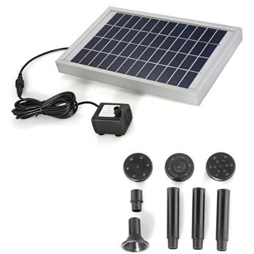 Pannello Solare Per Pompa Acqua : Energia pannello solare pompa ad acqua per la fontana