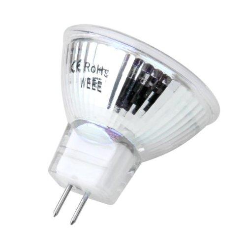 gu4 mr11 dc 12v 6 smd 5050 led light bulb 6000k white cp. Black Bedroom Furniture Sets. Home Design Ideas
