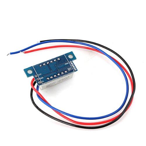 mini voltmetre testeur test numerique voltage batterie tension dc 0 wt ebay. Black Bedroom Furniture Sets. Home Design Ideas