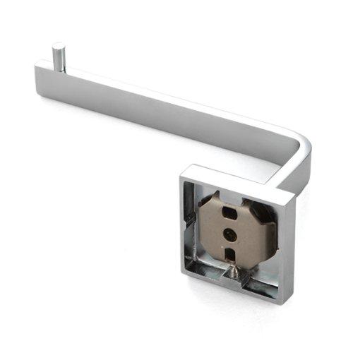 Support papier toilette porte rouleau en laiton chrome salle de bain wt ebay - Support rouleau papier ...