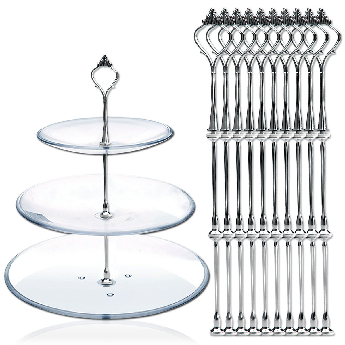 Cake Plate Stand Fittings