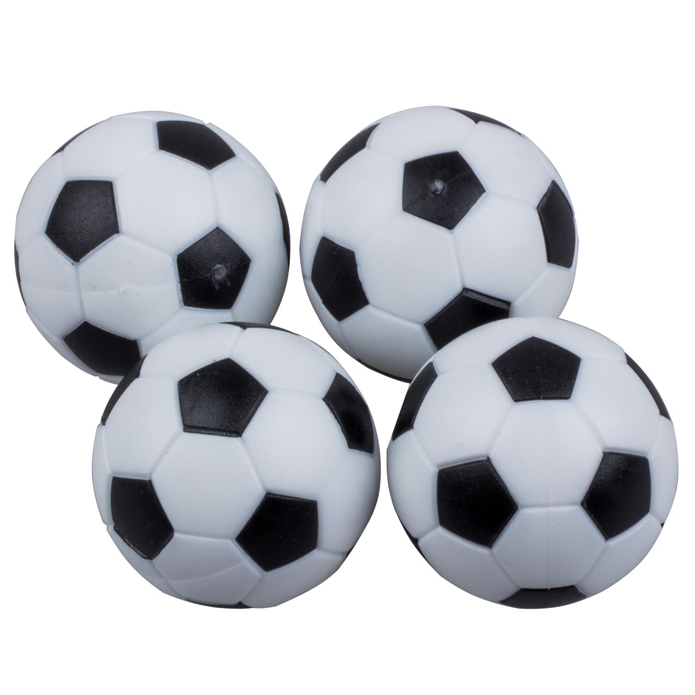 4pcs 32mm Plastic Soccer Table Foosball Ball Football