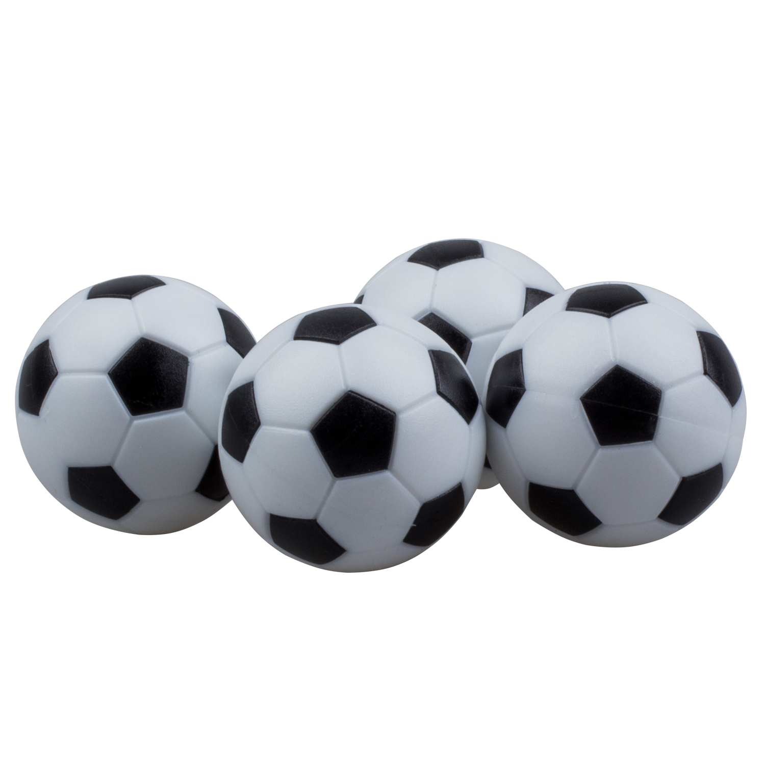 4pcs 32mm Plastic Soccer Table Foosball Ball Football