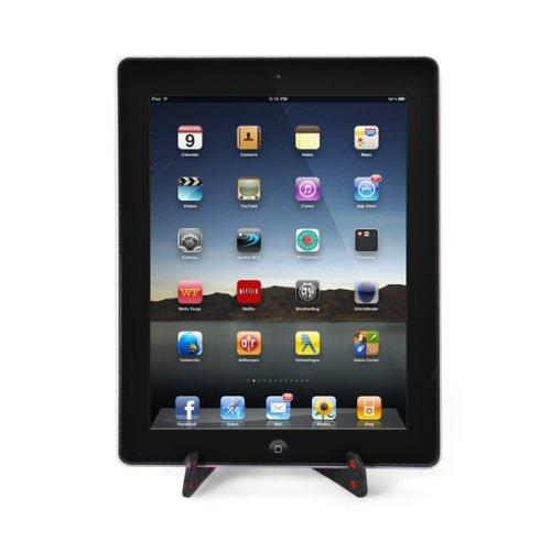 et staender halter halterung verstellbar fuer handy tablet pc rot smartphone neu ebay. Black Bedroom Furniture Sets. Home Design Ideas