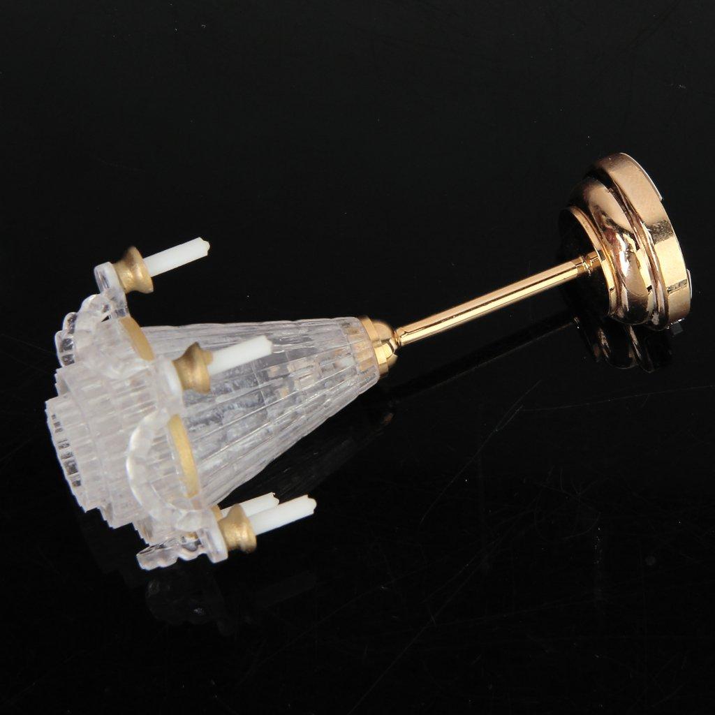 puppenhaus miniaturen lichtstativ fuenf falsch transparent. Black Bedroom Furniture Sets. Home Design Ideas