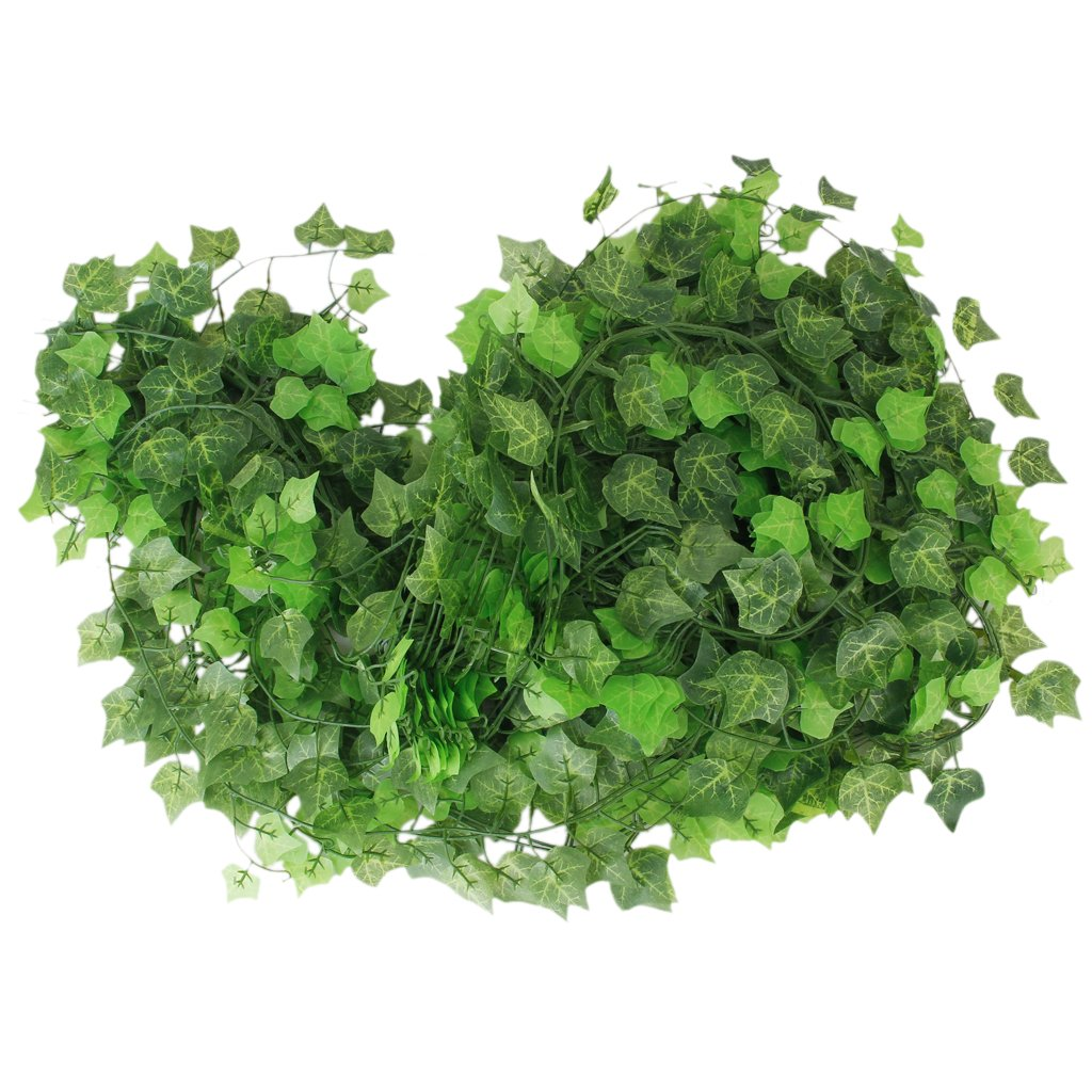 12 x ivy vine decoration artificial plants leaf sweet for Artificial plants for decoration