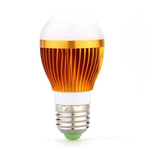 ampoule lampe e27 3 led lumiere blanche chaude 6w peut. Black Bedroom Furniture Sets. Home Design Ideas