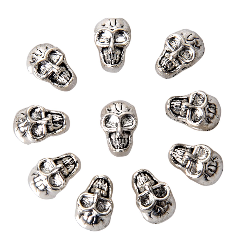 30 Perles intercalaire spacer Fleur métal argenté 4mm Apprêts créat bijoux /_A014