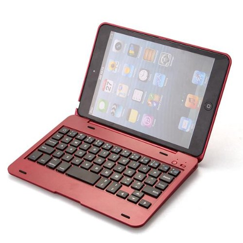 10xbluetooth tastatur wireless keyboard fuer ipad mini mit. Black Bedroom Furniture Sets. Home Design Ideas
