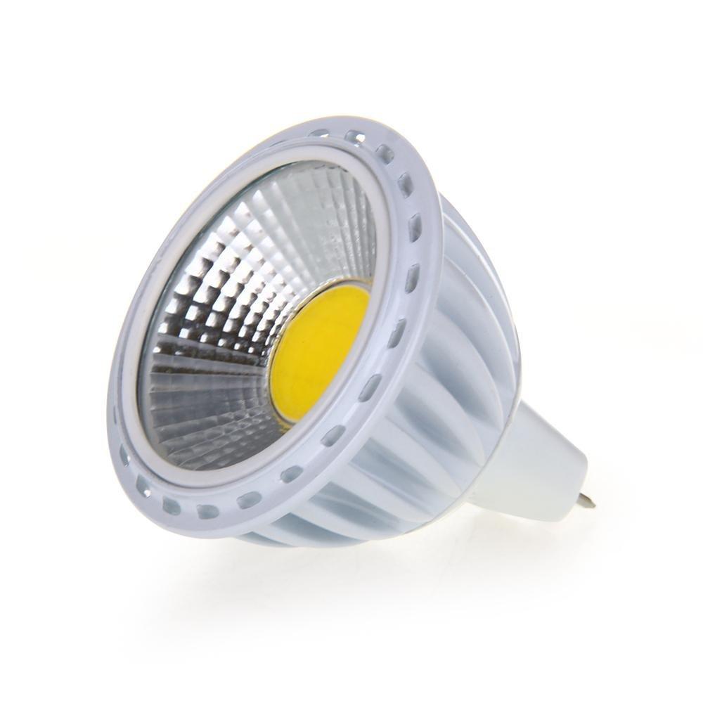 3X GU5,3/MR16 6W COB LED Lampe 420LM 60° 3000K Warmweiss DC 12V DE ...
