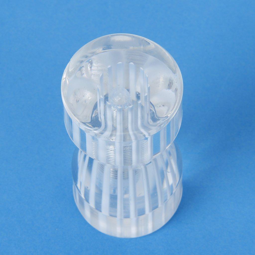 Bouton pour porte de douche verre forme conique for Bouton de porte en verre