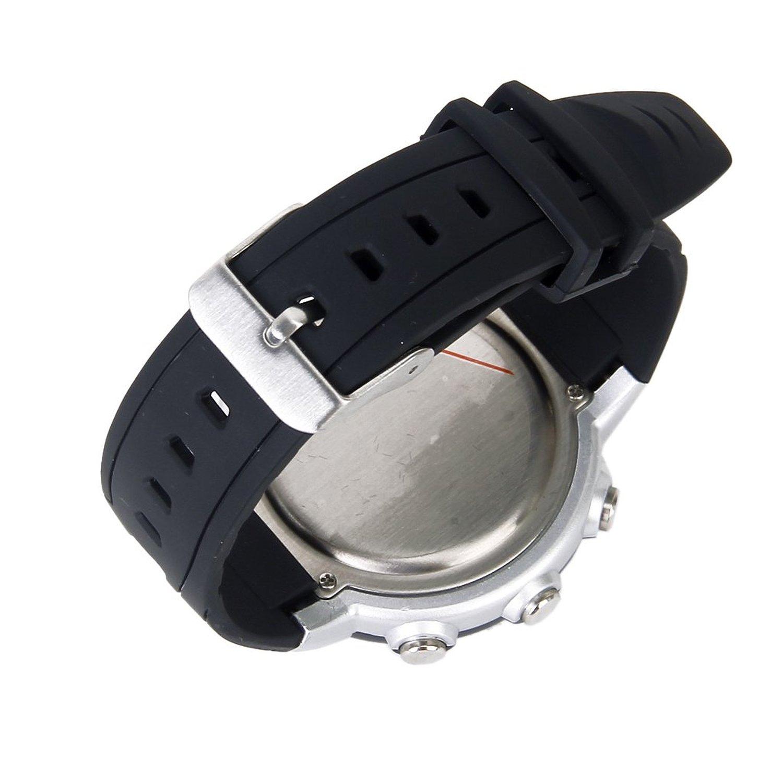 5x reloj monitor ritmo cardiaco del pulso negro gimnasio for Monitor gimnasio