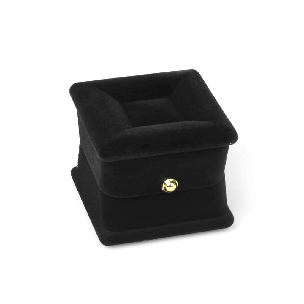 boite d 39 anneau boucles d 39 oreilles boite a bijoux boite d 39 organisateur noir wt ebay. Black Bedroom Furniture Sets. Home Design Ideas