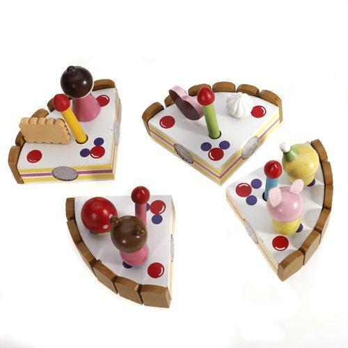 Hoelzerne rollenspiel geburtstag kuchen spielzeug a2i1 ebay - Ebay kuchen ...