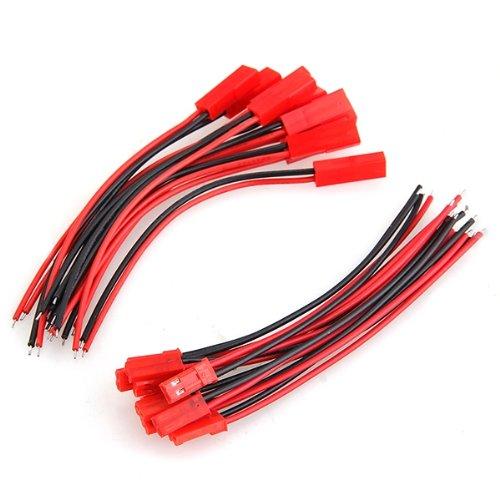 10 Paar RC Model Batterie JST Stecker Buchse Anschluss Kabel Draht ...