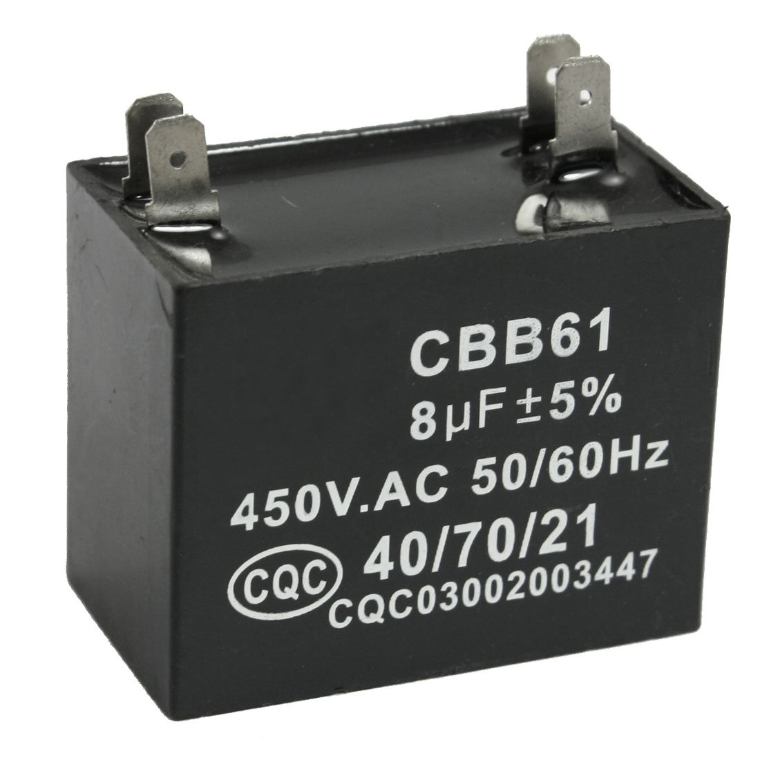Cbb61 8uf 450v Ac 50 60hz Air Conditioner Fan Motor