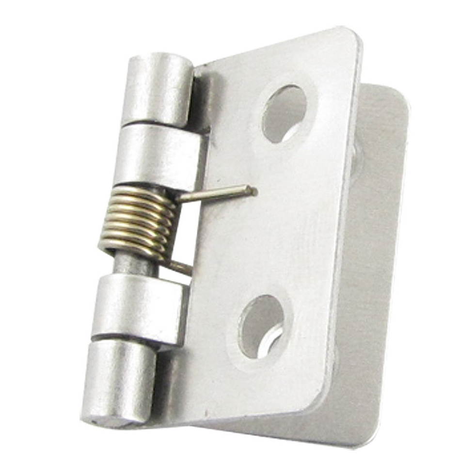 Spring Loaded Pivot : Silver tone metal mm spring loaded butt