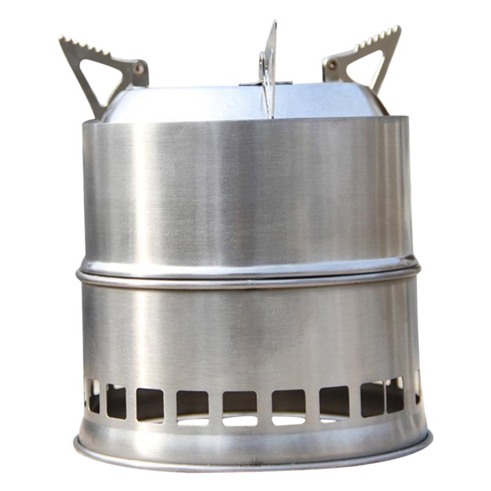 2x(P2 leger Portable Stove Rechaud a bois Poele a bois  ~ Poele A Bois Portable