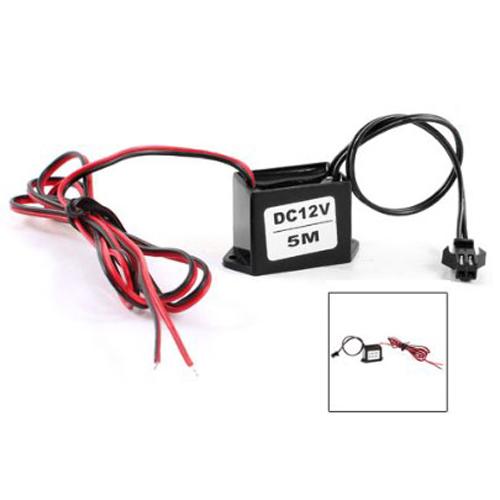 DC 12V EL Wire Neon Glow Strip Light Driver Unit Inverter HP ...