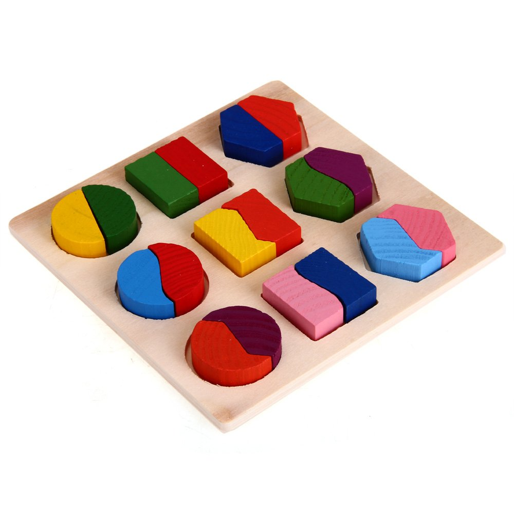puzzle jouet jeux casse tete educatif en bois pour bebe enfant wt ebay. Black Bedroom Furniture Sets. Home Design Ideas