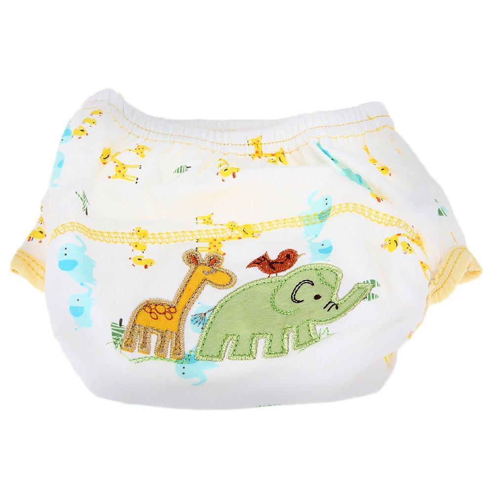 couche culotte d 39 apprentissage lavable en coton etanche elephant pour bebe c1o9. Black Bedroom Furniture Sets. Home Design Ideas