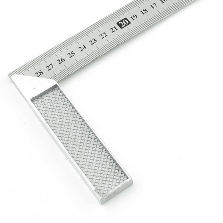 30cm Stainless Steel Right Measuring Angle Square Ruler N3