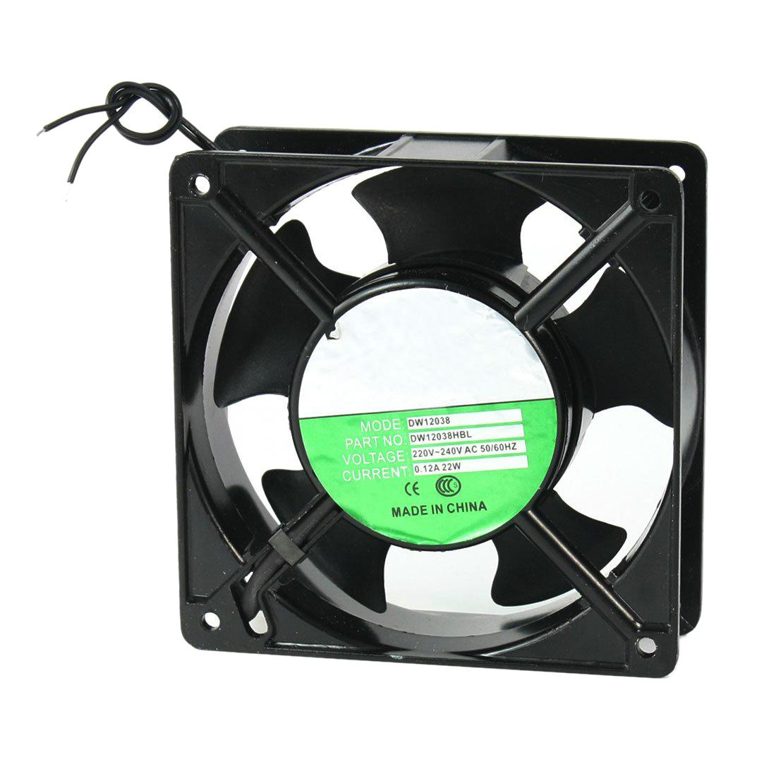 Axial Flow Fan Blade : Mm blades metal frame axial flow cooling fan