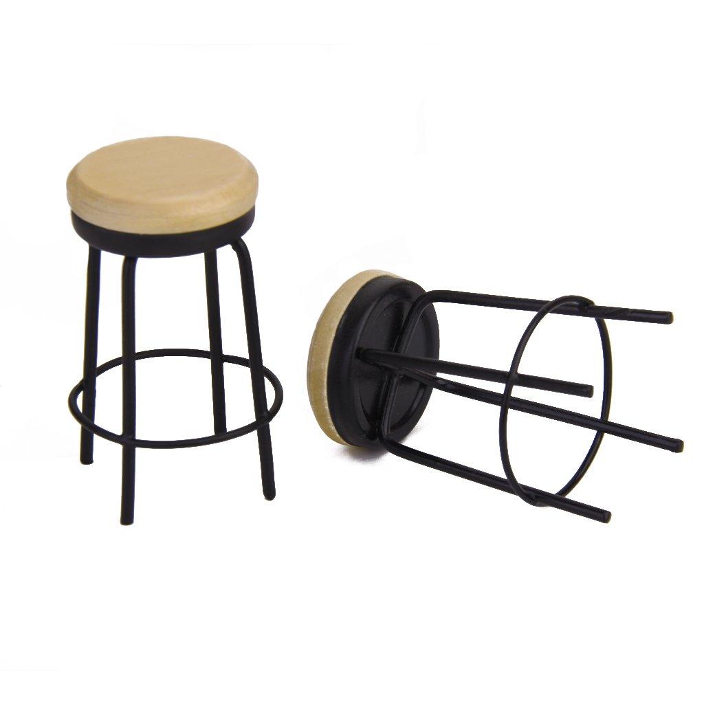 1 12 puppenhaus miniatur bar moebel tisch und 2 stuehle gy. Black Bedroom Furniture Sets. Home Design Ideas